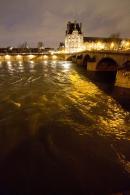 Crue de la Seine, le Louvre