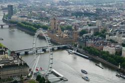 La  Tamise  et le palais de Westminster