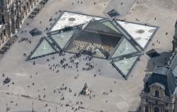 La pyramide du Louvre de Leoh Ming Pei
