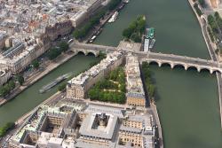 L'île de la Cité et le Pont Neuf