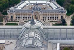 Les toits du Grand et du Petit Palais