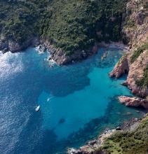 Crique en Corse