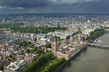 Londres, le quartier de Westminster