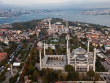 La Mosquée Bleue et la basilique  Sainte Sophie