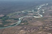 Les méandres du  Rio Negro