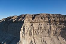 Falaises du littoral de Chubut