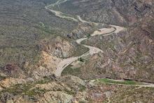 ferme isolée dans les Andes