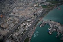 Ville et marina de Doha