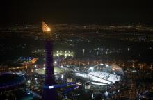 Le stade Khalifa, complexe sportif de Doha