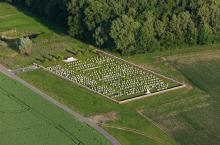 Cimetière militaire anglais près d'Ypres