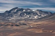 Le volcan Nevado Ojos del Salado