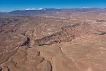 Hauts-plateaux près de Ouarzazate