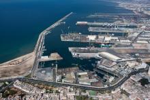 Le port de Casablanca
