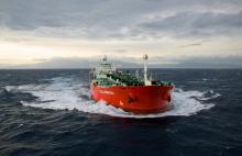 Le Vallombrosa, pétrolier de 250 mètres