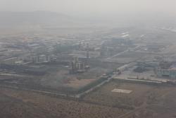 zone industrielle près de Wuda