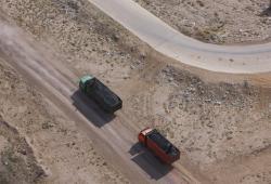 transport de matières premières