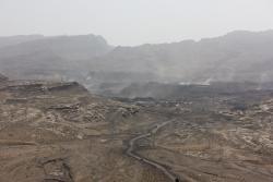 région industrielle près de Wuda