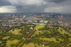 L'observatoire de Greenwich et Londres
