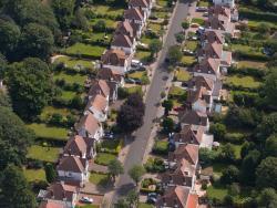 Cottages, banlieue sud de Londres